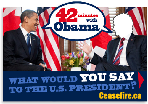 42 minutes with Barack Obama - What would you say?