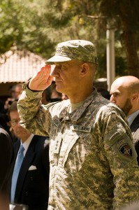 Gen. Petraeus Assumes Command of ISAF