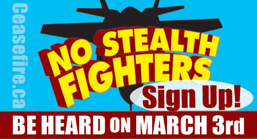 No Stealth Fighters