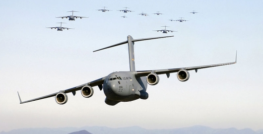 Canada will contribute the services of one C-17 transport plane for one week.