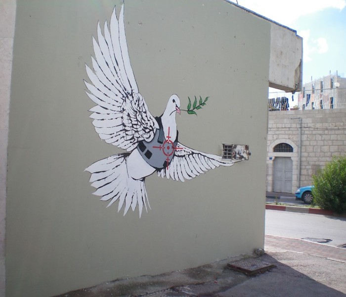 Banksy - Peace Dove