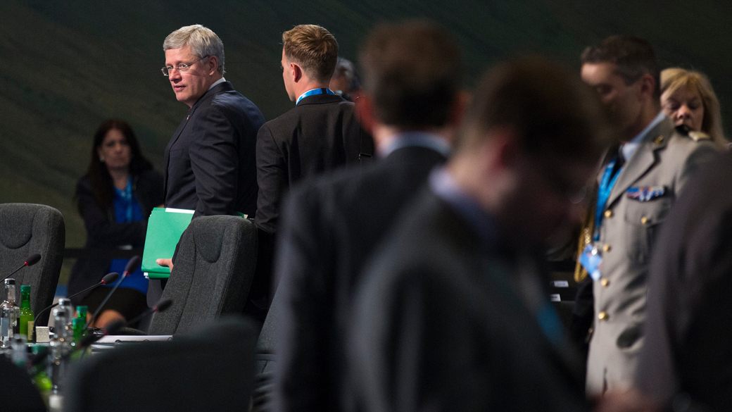 Harper attends NATO Summit