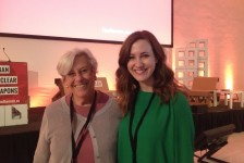 Ceasefire.ca's Kat Walsh and Rideau Institute Senior Advisor Alice Slater