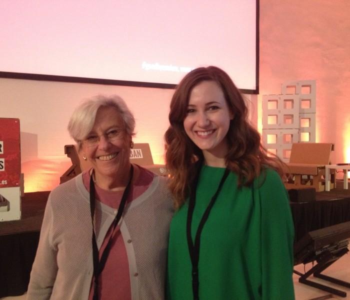 Ceasefire.ca's Kat Walsh and Rideau Institute Senior Advisor Alice Slater