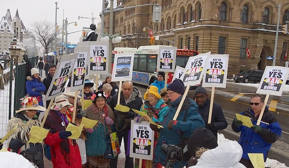 crowd-demonstrating