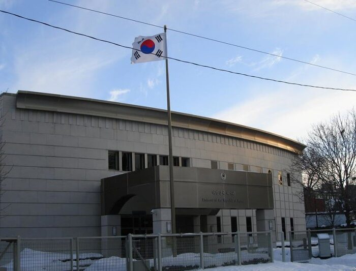 S. Korean embassy Ottawa