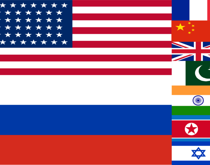 Nuclear state flags