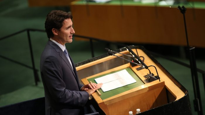 PM Trudeau at 71st UN General Assembly