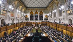 42nd Parliament, House of Commons Chamber in session